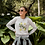 Thumbnail: Lemon Sweatshirt | Botanical Print |Handmade Hippie Illu