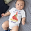 Thumbnail: I Love You More Than Pizza Bodysuit | Handmade Baby Bodysuit