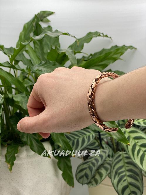 Braided Ethnic Bangle / Boemian Cuff bracelet