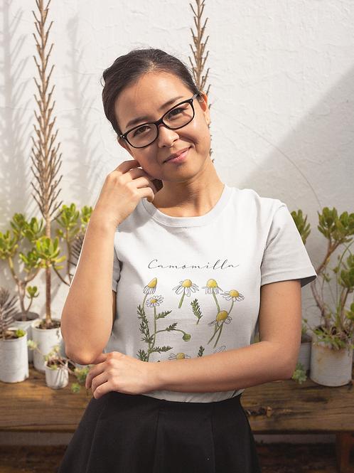 Camomile T shirt | Handmade Wild Botanical Illustration