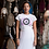 Thumbnail: Tie Dye OM T shirt | Handmade Illustration