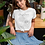 Thumbnail: Sun Flower T shirt | Handmade Botanical Illustration