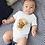 Thumbnail: Cute Fox Bodysuit | Handmade Baby Bodysuit