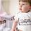 Thumbnail: Cute Badger Bodysuit | Handmade Baby Bodysuit