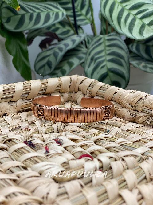 Copper Ethnic Bangle / Unisex bangle
