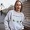 Thumbnail: You Grow Girl Sweatshirt | Botanical Print |Handmade Hippie Illustration