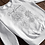 Thumbnail: Black and White Sunflower Sweatshirt | Handmade Hippie Illustration