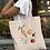 Thumbnail: Veggie Power Tote Bag | Hand Made Illustration