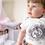 Thumbnail: Cute Squirrel Bodysuit   Handmade Baby Bodysuit