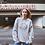 Thumbnail: Hippie Sun And Moon Sweatshirt |Handmade Hippie Illustratio