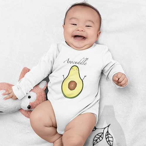 Avocuddle Bodysuit | Avocado Handmade Baby Bodysuit