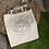 Thumbnail: Hippie Sun And Moon Tote Bag | Hand Made Illustration