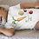 Thumbnail: Veggie Power Bodysuit | Handmade Baby Bodysuit | Cute Vegetables