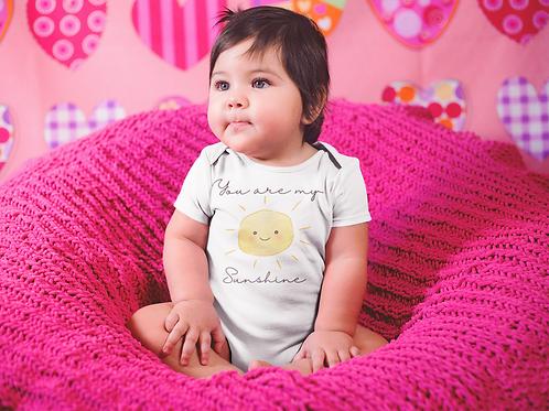You Are My Sunshine Bodysuit   Handmade Baby Bodysuit   Cute Sunshine