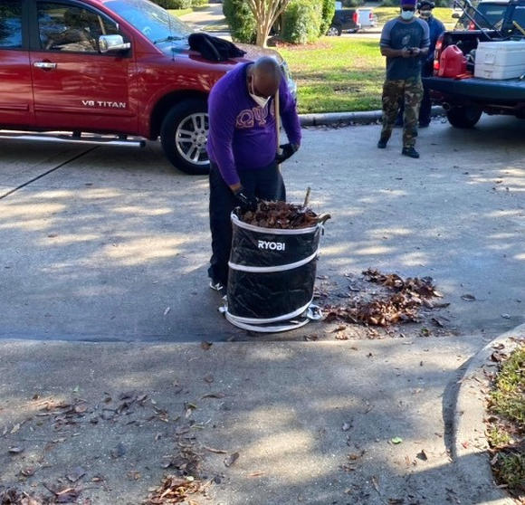 Bro. Williams Chapter Cleanup Project