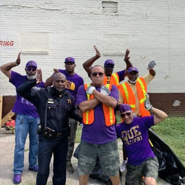 5th Ward Day of Service Community Cleanup