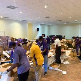 Fallbrook Church Food Distribution