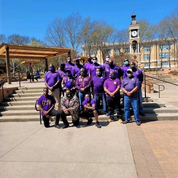 Sam Houston Eta Mu Chapter Purple Day