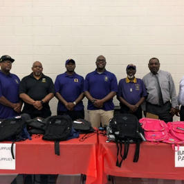 Hill Elementary Backpack Drive