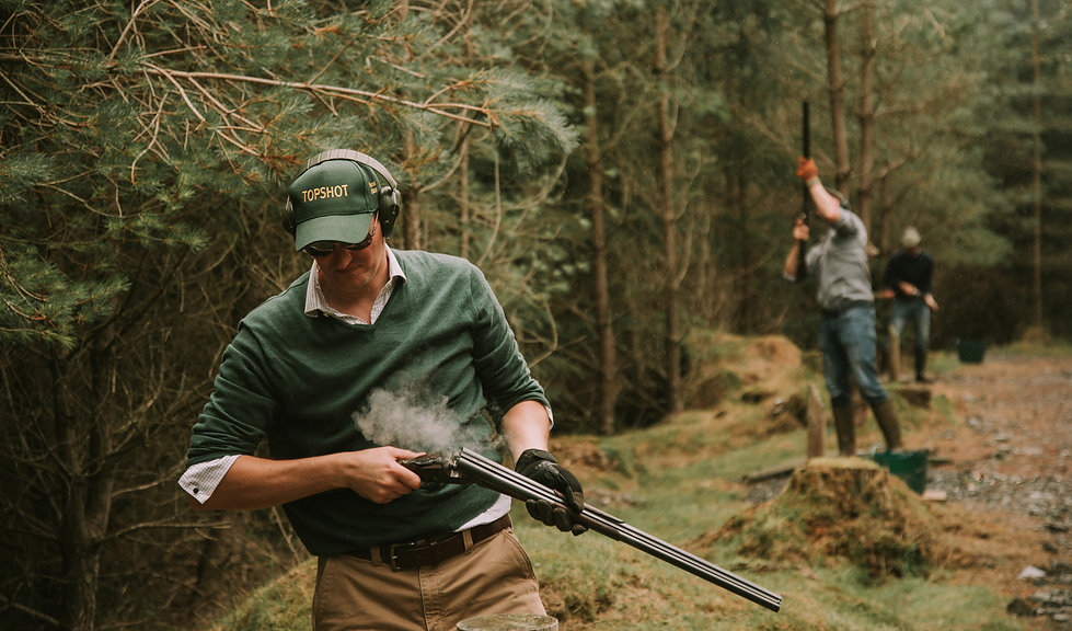 Simulated Game Shooting Scotland Forrest Estate