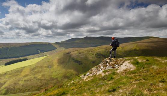 Alone in the Berwyn Mountains