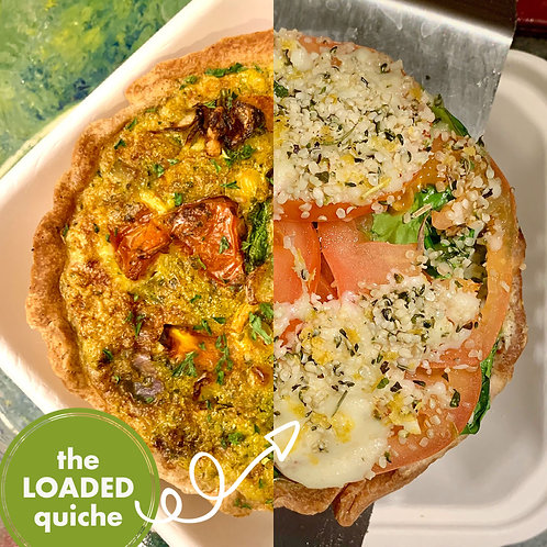 """4"""" Loaded Quiche of the Week"""