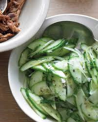 Cucumber and Sweet Onion Salad