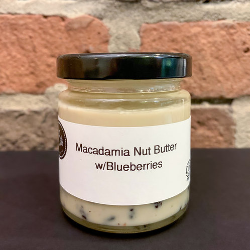 Macadamia Nut Butter with Blueberries