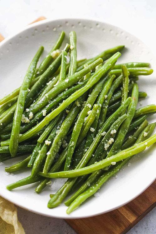 Garlic Greens Beans