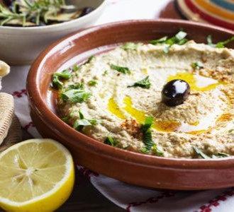 Fresh Hummus w/Parsley