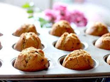 Gluten Free Date Walnut Muffin