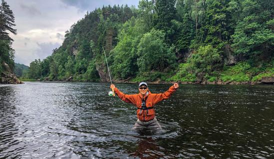 Mandals river 2018