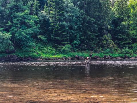 Mandals river