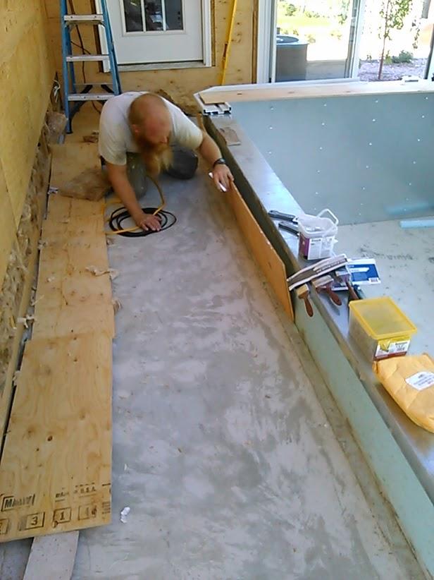 pool room floor