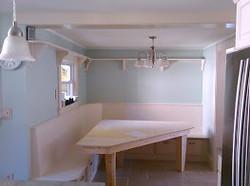 Custom seating area