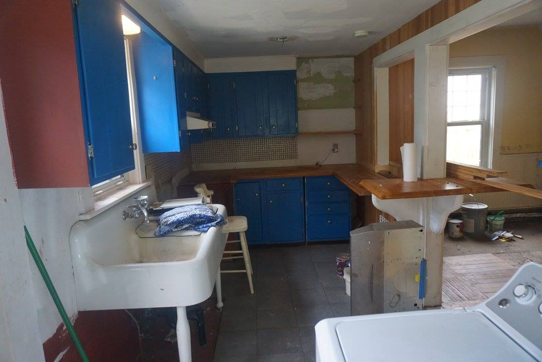 Existing kitchen space