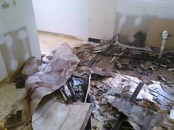 Kitchen floor demo