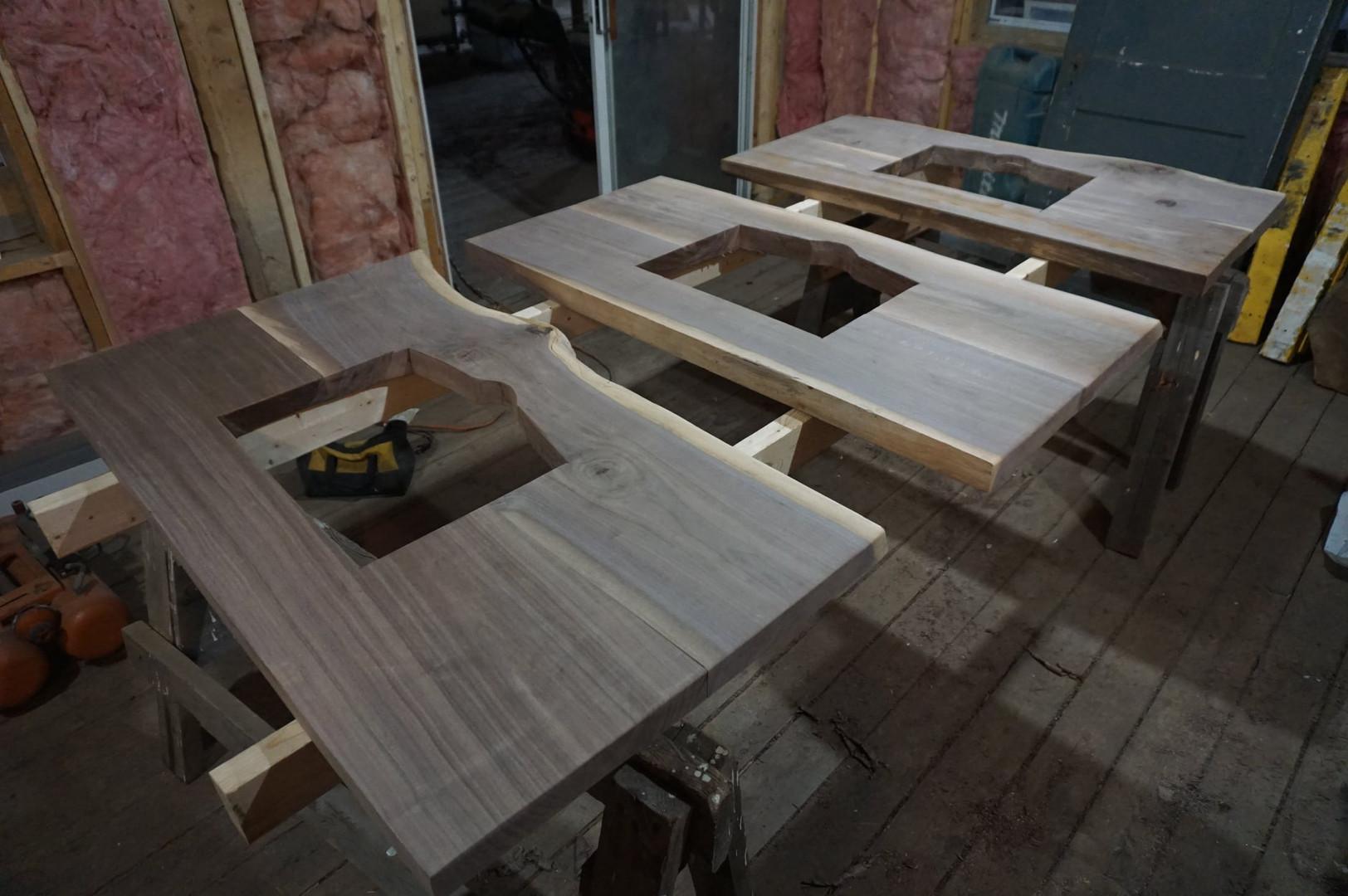 Walnut vanity tops unfinished