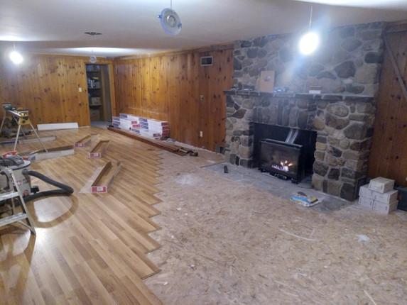 dance studio renovation