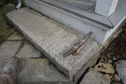 Gloucester granite step