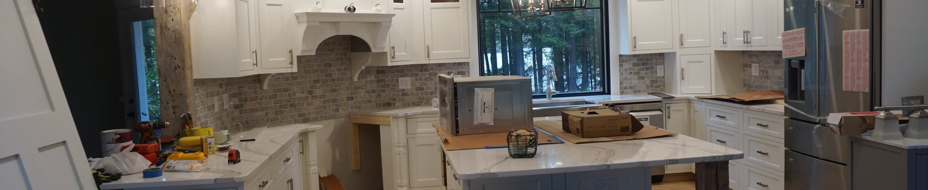 Kitchen mount vernon near done lighting