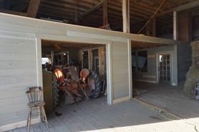1st floor of barn mid renovation February
