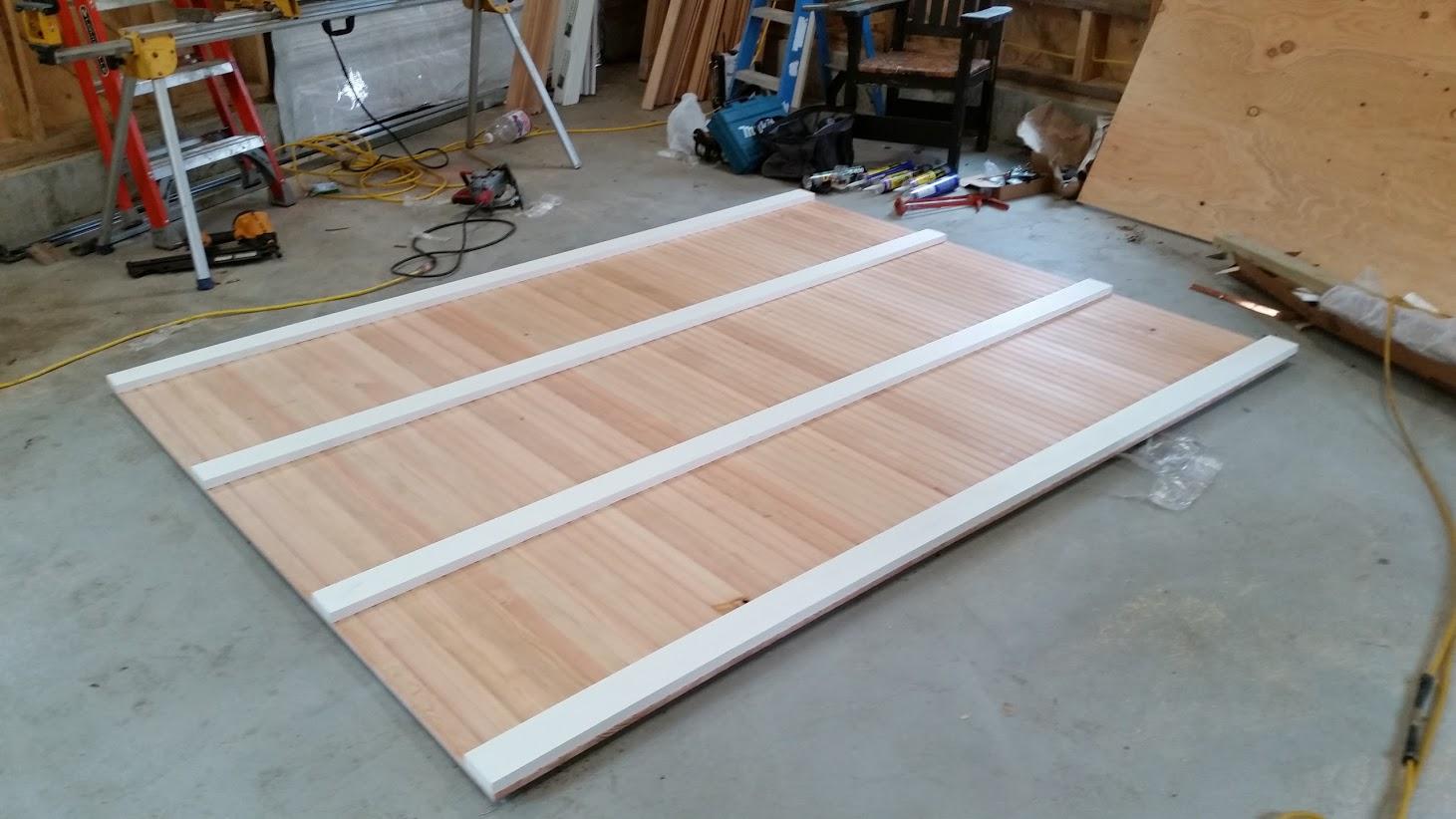 barn door construction