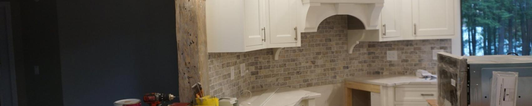 mount vernon kitchen near done lighting