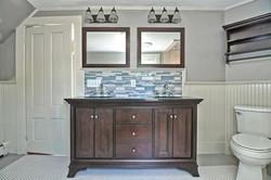2nd floor bath double vanity