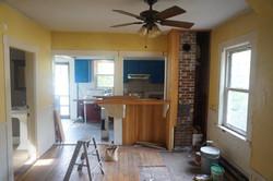 Kitchen reno before..