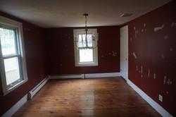 What is now the 1st floor bedroom
