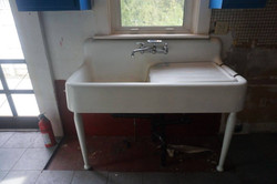 removing old sink