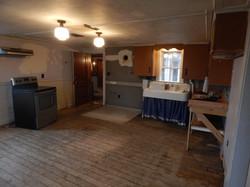Kitchen pre- surface reno