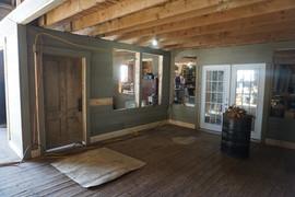Barn workshop area renovation